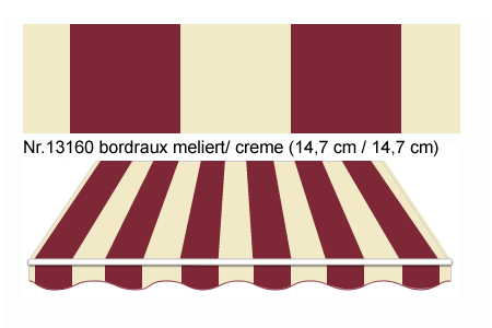 Markisenstoff Blockstreifen Sbam11263 Suntec Markisenstoffe